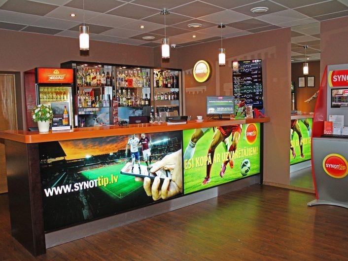 спортивный бар и игровые автоматы Kalna iela 2