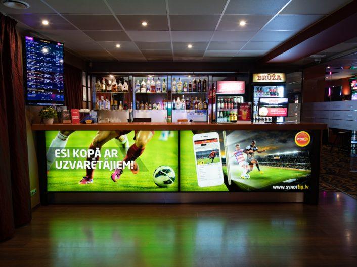 спортивный бар и игровые автоматы Rīgas iela 36