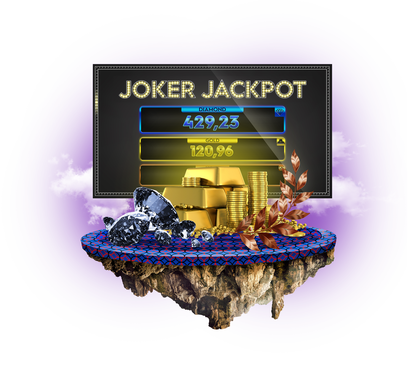 Three–level jackpot has arrived –<br />