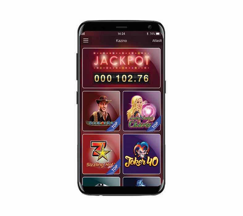 SynotTip Casino aplikācija