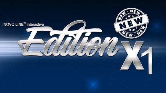 Jauna 30 spēļu pakete – NOVO LINE™ Interactive Edition X1